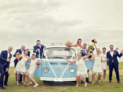 Brad & Libby - All Smiles Sorrento Wedding , Immerse Photography, All Smiles Sorrento Weddings, Sorrento Wedding Photographer, Sorrento Wedding Photos, Mornington Peninsula Weddings, Bloominel Weddings, Berwick Wedding Photographer, Pakenham Wedding Photographer, Genelle Bevan , Raffaele Cuica, First Look, Peninsula Kombi Bus