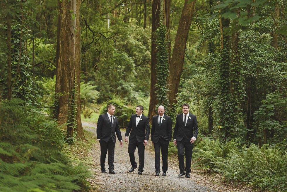 Troy & Tara - Lyrebird Falls Wedding Photography, Lyrebird Falls Weddings, Dandenongs Weddings, Dandenongs Wedding Photography, Dandenongs Wedding Photographer, Immerse Photography, Lyrebird Falls Wedding Photographer, Rainy Weddings, Groomsmen