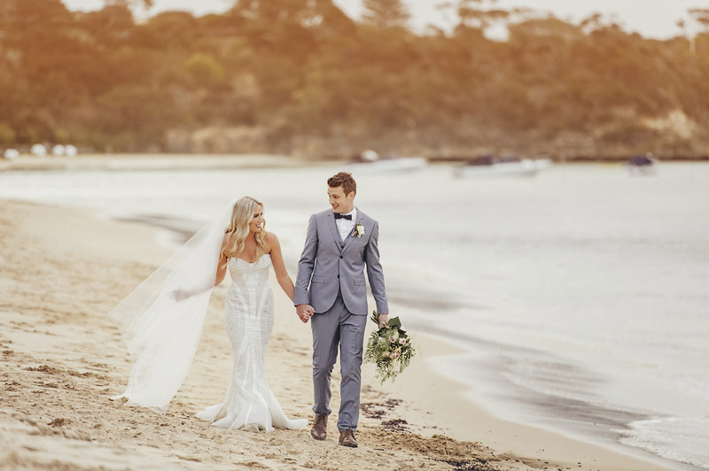 Portsea Hotel Weddings, Mornington Peninsula Weddings, Toast Magazine, Immerse Photography, Beach Wedding, Bride Prep, Bride Details, Bride, Bridesmaids, Poppy Culture flowers, Craig Braybrook Couture, Beach Ceremony, Bridal Party