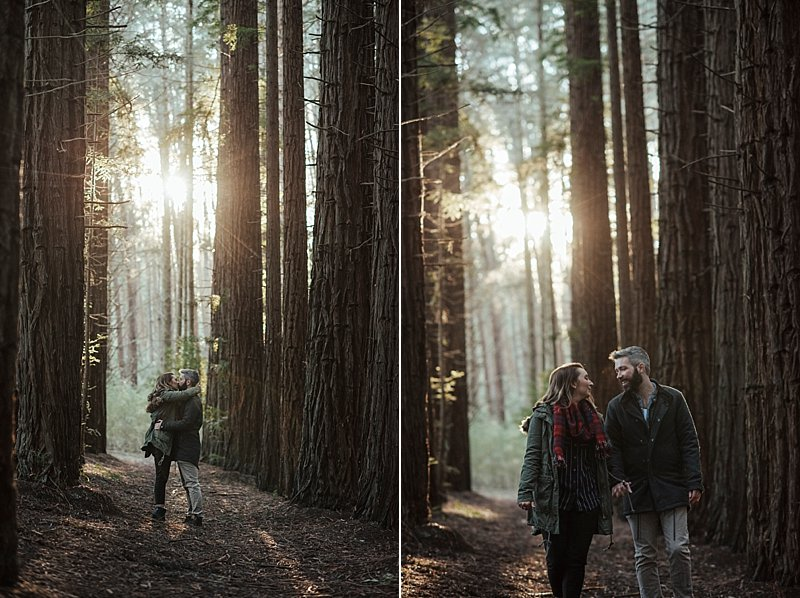 Engagement shoot, Redwood Forest Warburton, Immerse Photography engagement shoots, just engaged, love session