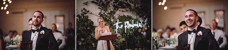 Abbotsford Convent Wedding Photos, Abbotsford Convent Wedding, Romantic Styled Wedding, Church Wedding, Church Wedding, Weddings of Desire, Cecilia Fox Florals, Neon Sign at wedding, Neon wedding sign, Immerse Photography, Berwick Wedding Photography, Amaline Vitale Couture, Sketch & Etch Neon Sign, Travellers Apparel Suits