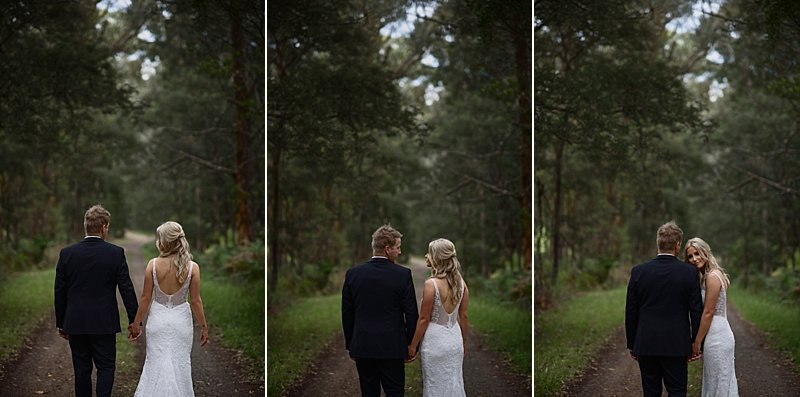 Forest Edge Wedding, Gembrook Wedding, Forest Edge Wedding Photos, Rustic Wedding, Combi Wedding Car, Forest Wedding, Jane Hill Bridal Gown, Hello Blossoms, Bloominel,