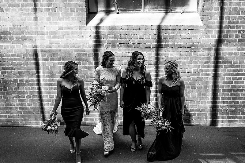 Melbourne Zoo Weddings, Zoo Weddings, Melbourne Zoo Wedding Photos, Combi wedding Car, Bride, Groom, Groom on Harley, Groom Tattoos, Julie Byrne Celebrant,