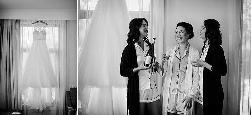 Yering Station Wedding, Yering Station, Yarra Valley Wedding, Yarra Valley Sunset, Yering Station Sunset, Bride, Groom, Autumn wedding, Raffaele Cuica Bridal Couture, Matt Finch Celebrant, Sugarbee FlowersYering Station Autumn Wedding, Bride Prep