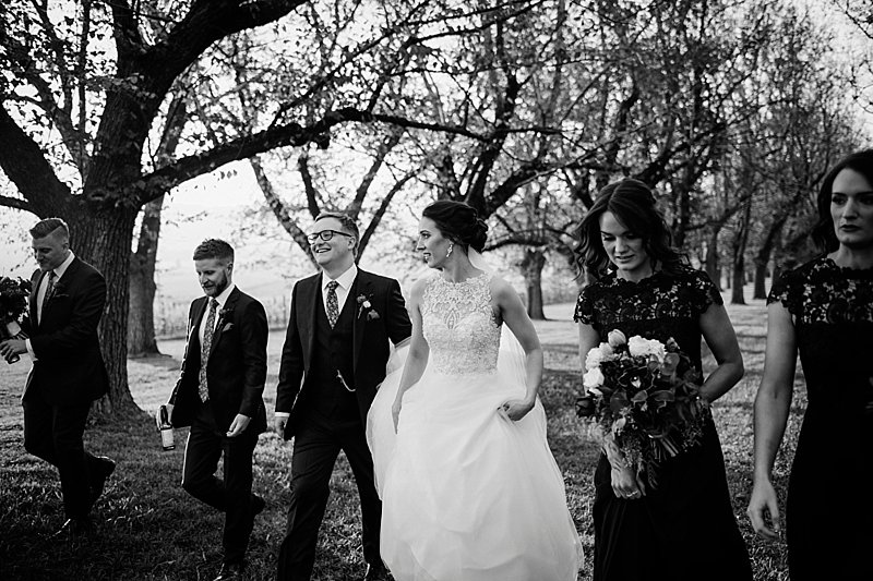 Yering Station Wedding, Yering Station, Yarra Valley Wedding, Yarra Valley Sunset, Yering Station Sunset, Bride, Groom, Autumn wedding, Raffaele Cuica Bridal Couture, Matt Finch Celebrant, Sugarbee FlowersYering Station Autumn Wedding, Bride Prep, Bridesmaids, Black Bridesmaids dress, Ceremony