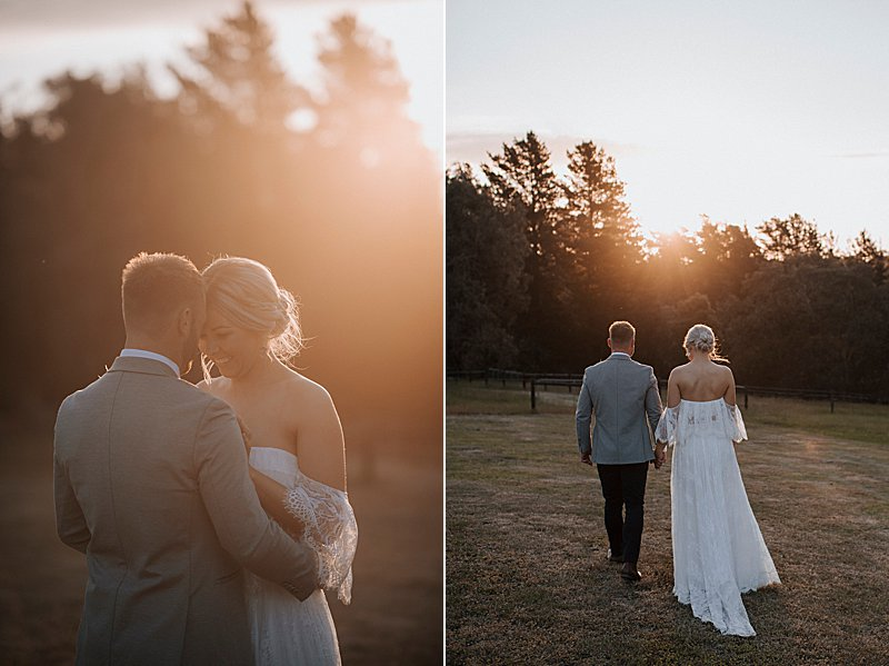 Country Wedding, Private Property Wedding, Gippsland Wedding, Marquee Wedding, Otto & Chaise, Grace Loves Lace Dress, First Look, Gippsland Wedding Photographer, Ido Ido Magazine