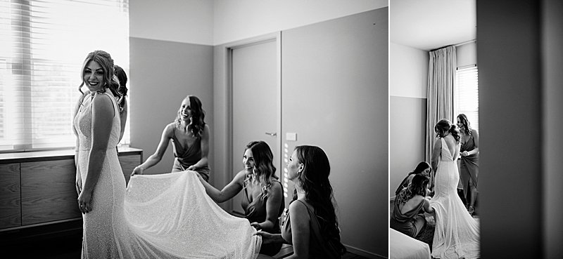 The Prince Hotel Weddings, The Prince Hotel St Kilda, St Kilda Weddings, Melbourne Wedding Photographer, City wedding, Mariana Hardwick dress, Mariana Hardwick Bride, Melbourne Bride