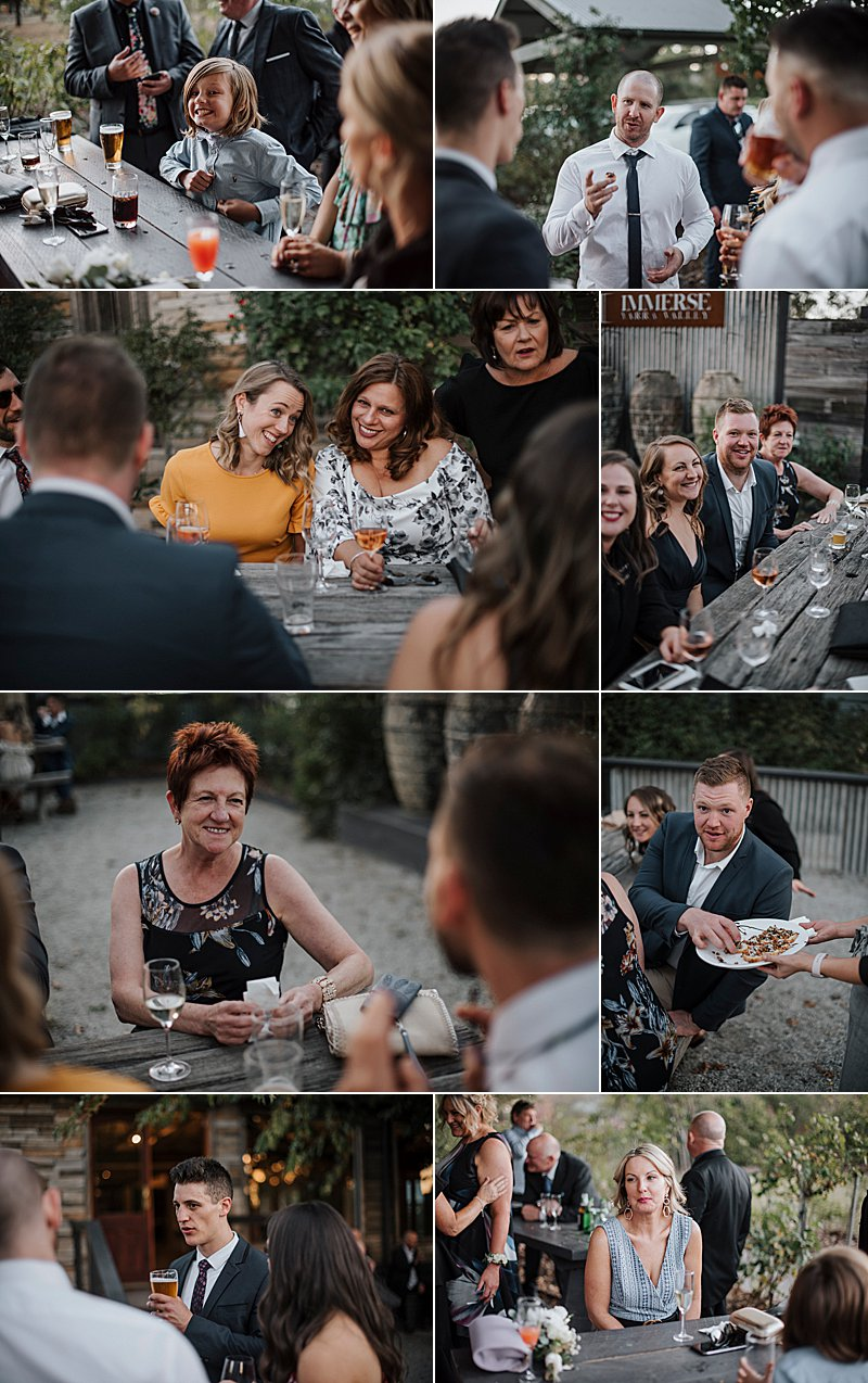 Immerse Winery Wedding, brides prep, wedding combi, immerse winery, winery wedding, yarra valley wedding photographer, yarra valley weddings, wedding dress, wedding reception
