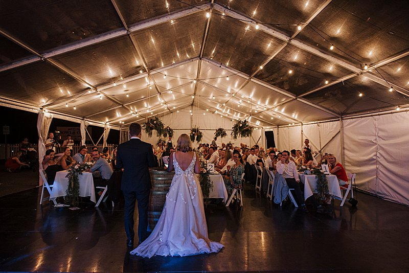 Metung Wedding, Gippsland Wedding, Ivory Tribe real wedding, private property wedding, bride style, bluebell bridal, MJ Bale Groom, Metung Yacht Club Reception