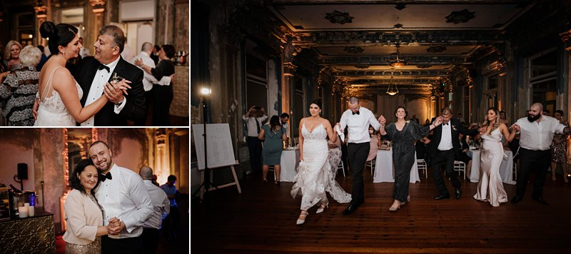 George Ballroom wedding dancing