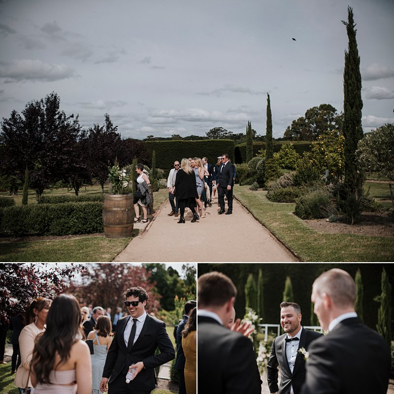 Garden ceremony Coombe Yarra Valley