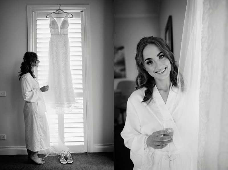 Inglewood Estate Cottage, Bride Prep, Moonstruck Bride