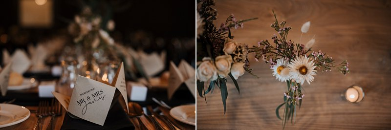 Inglewood Estate Wedding, Chapel wedding, Moonstruck Bride, Table details