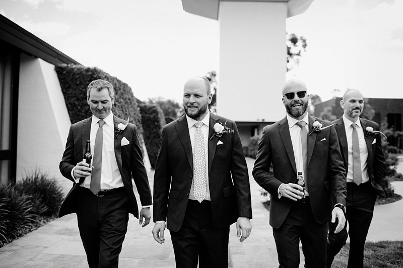 Michelton Winery Wedding, Groom, Groomsmen