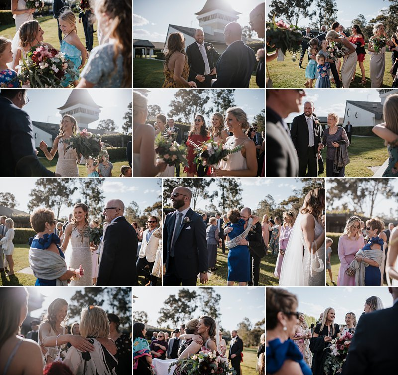 Michelton Winery Wedding, Michelton Winery Hotel, Ceremony, Congratulations, candids