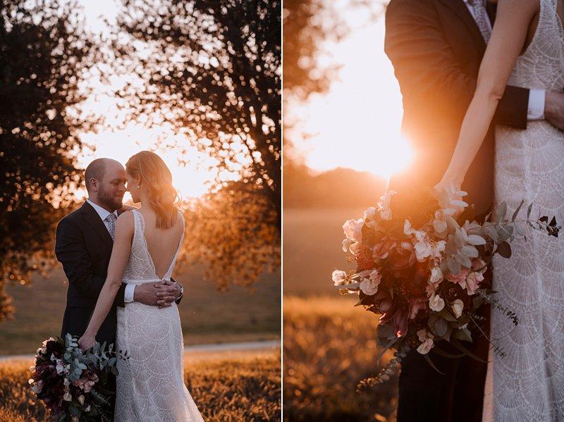 Michelton Winery Wedding, Michelton Winery Hotel, Couple Sunset Shoot