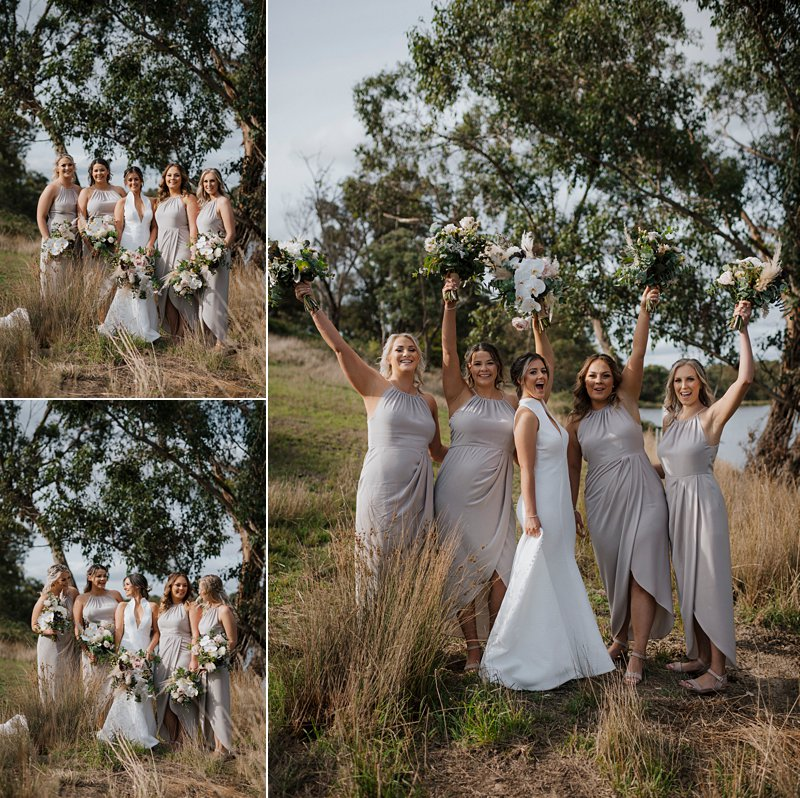 Shona Joy Bridesmaid dresses Taupe, Bride & bridesmaids, rustic wedding photos
