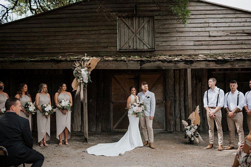 The Farm Barn Ceremony, Anna Smale Celebrant