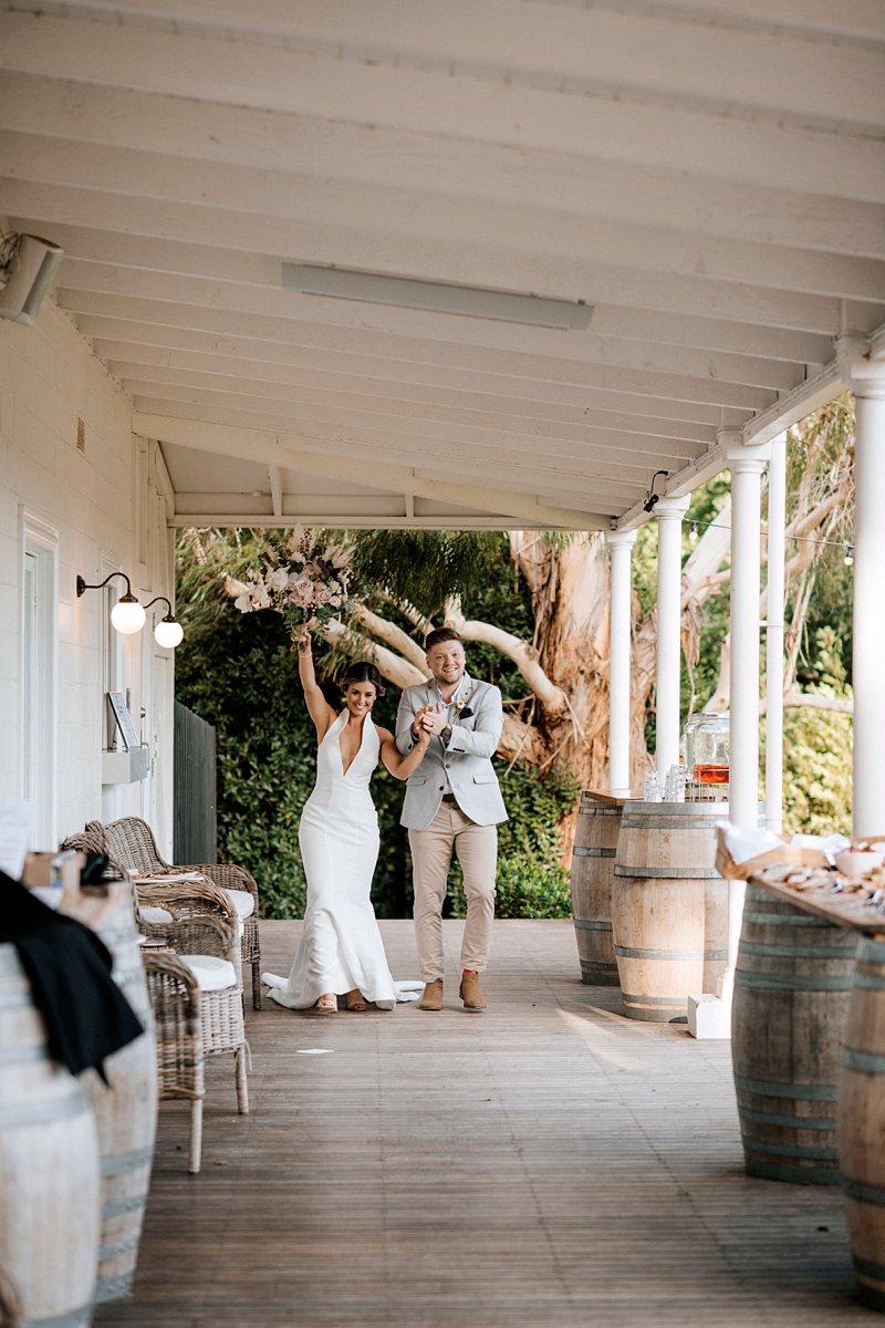 Bride and Groom intro, The Farm Yarra Valley