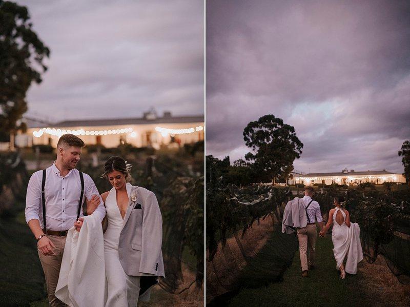 The Farm Yarra Valley vines shots