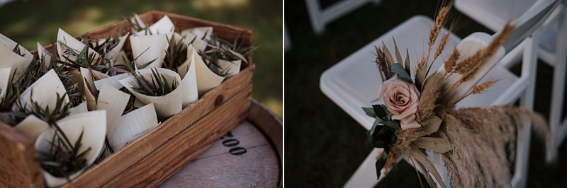 Wandin Park Estate wedding, Farm Wedding, Rustic Timber Arch, Ceremony details