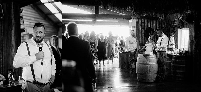 Wandin Park Estate wedding, Farm Wedding, Reception, Mike Larkin MC