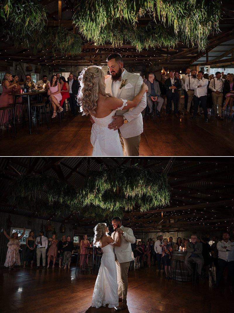 Wandin Park Estate wedding, Farm Wedding, Reception, Bridal Waltz