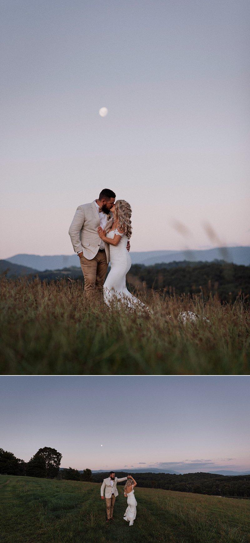 Wandin Park Estate wedding, Farm Wedding, Sunset Photos