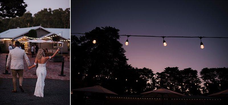 Wandin Park Estate wedding, Farm Wedding, Sunset Photos, reception