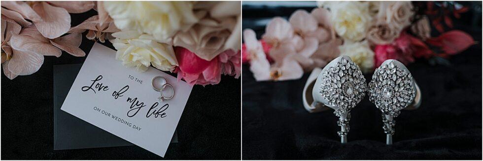Tim Membrey AFL Footballer's Elopement, Naomi Rose floral Design bouquet